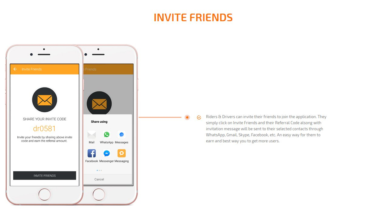 invite friends screen