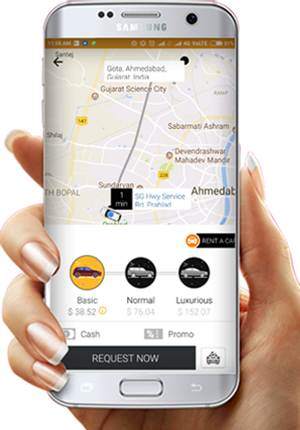 taxi on demand app