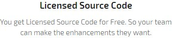 Licensed Sourced Code