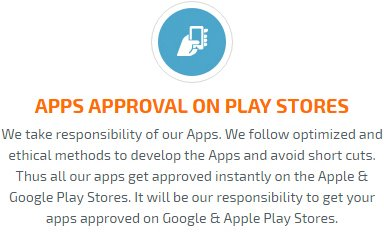 app approval on play/app store