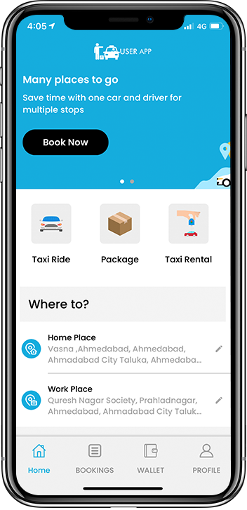 On Demand Delivery App with Taxi Clone