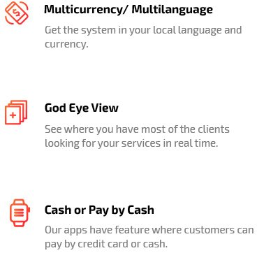 God Eye View & Payment Option Feature